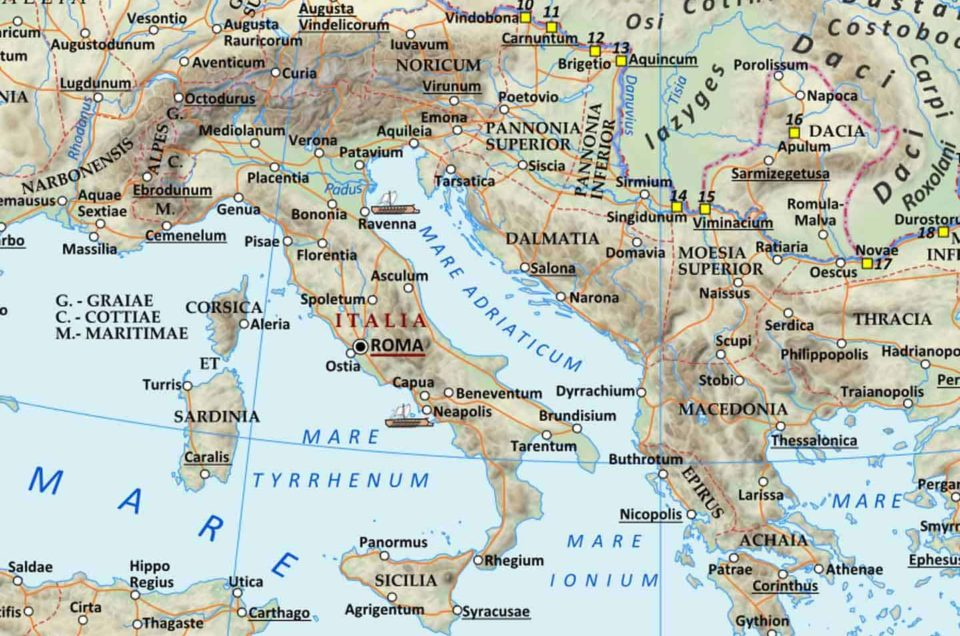 Le strade romane: ne conosci la storia?